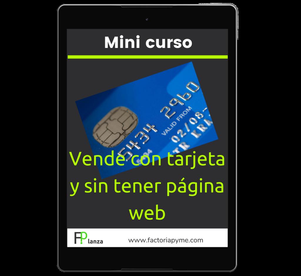 Factoría Pyme - Vende con tarjeta sin tener página web
