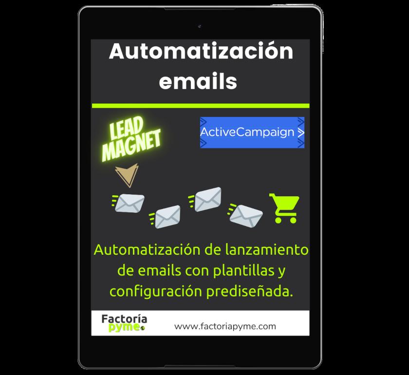 Bonus 2 Automatización email